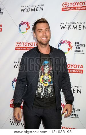 LOS ANGELES - MAY 21:  Lance Bass at the An Evening With Women 2016 at Hollywood Palladium on May 21, 2016 in Los Angeles, CA