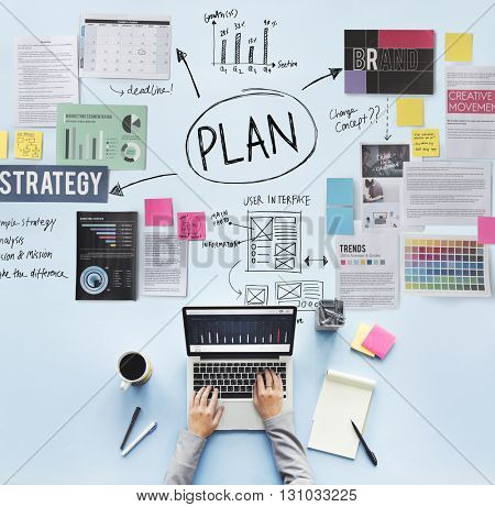 Plan Planning Operations Solution Strategy Concept