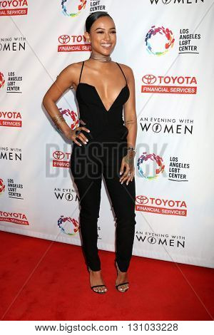 LOS ANGELES - MAY 21:  Karrueche Tran at the An Evening With Women 2016 at Hollywood Palladium on May 21, 2016 in Los Angeles, CA