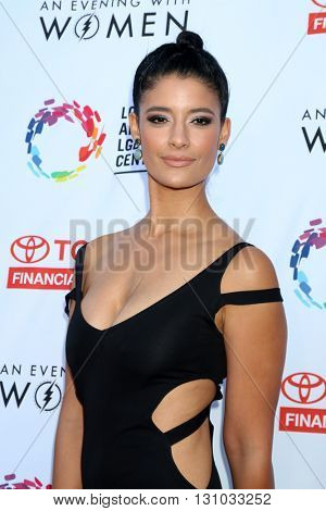 LOS ANGELES - MAY 21:  Jessica Clark at the An Evening With Women 2016 at Hollywood Palladium on May 21, 2016 in Los Angeles, CA