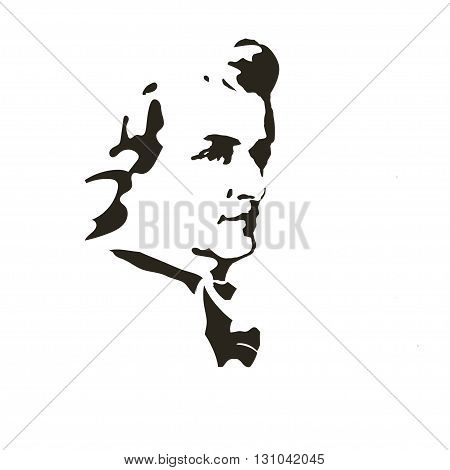 portrait of the composer and musician Wolfgang Amadeus Mozart