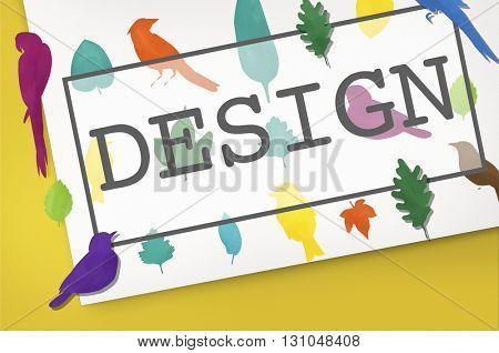 Design Idea Create Creative Blueprint Concept