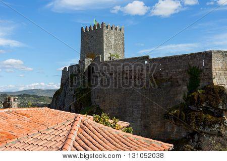 Sortelha Castle, Historic village near Covilha, Portugal
