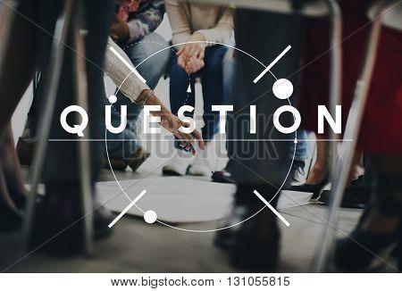 Question Ask Problem Solution Solve Concept
