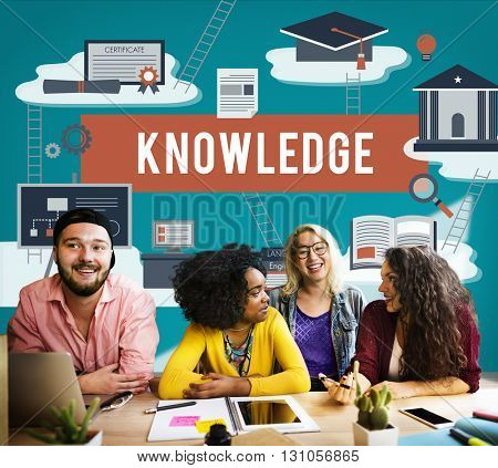 Knowledge College Insight Learning Studying Concept