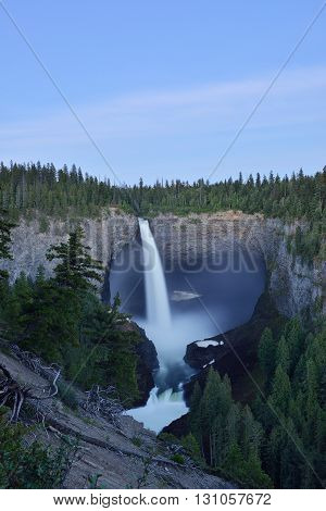 Helmcken Falls In Wells Gray Provincial Park