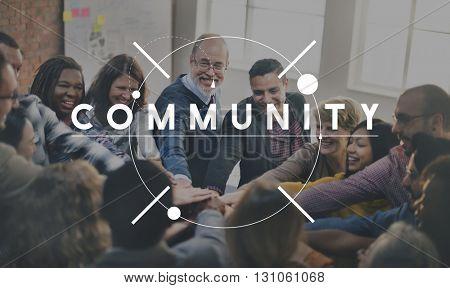 Community People Diversity Connection Concept