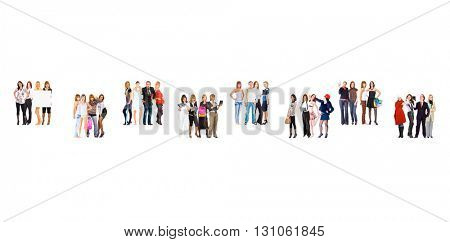 People Diversity Workforce Concept