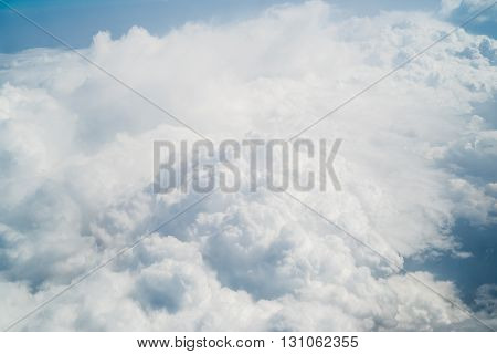 close up view of sky clouds background
