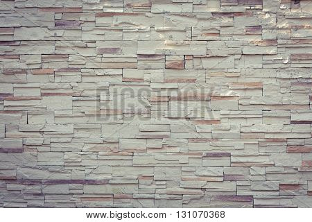 Stone White Wall Texture Decorative Interior Wallpaper Vintage Background