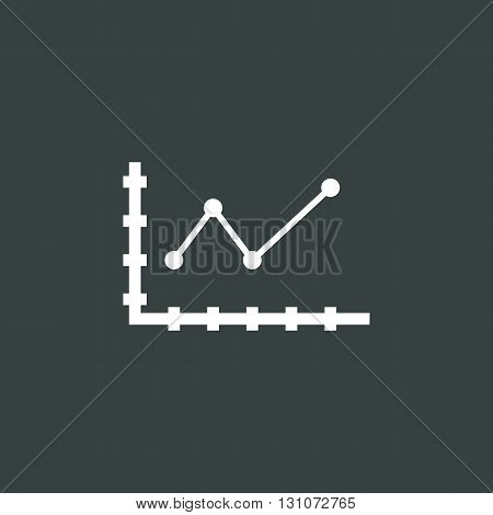 Dot Line Chart Icon In Vector Format. Premium Quality Dot Line Chart Symbol. Web Graphic Dot Line Ch