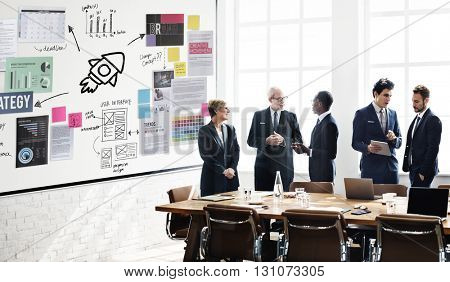 Plan Planning Strategy Business Ideas Concept