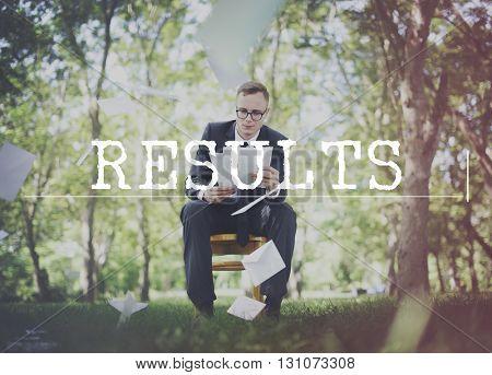 Results Achievement Assessment Effect Evaluate Concept