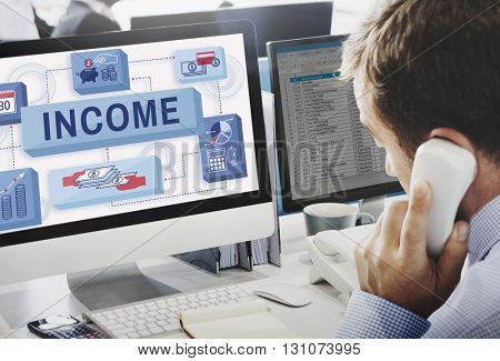 Income Finance Investment Loan Money Concept