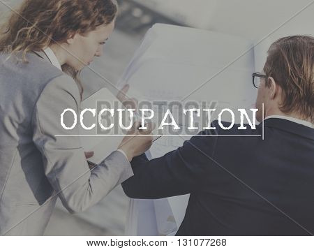 Occupation Career Employment Job Occupation Concept