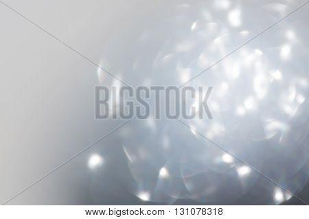 Abstract Bokeh Light Celebration Background