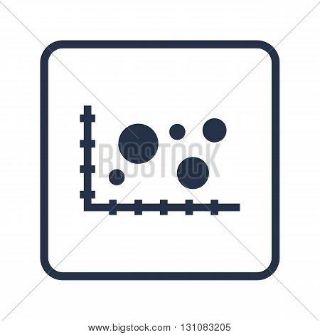 Bubble Chart Icon In Vector Format. Premium Quality Bubble Chart Symbol. Web Graphic Bubble Chart Si