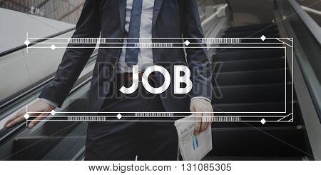 Job Career Employment Expertise Hiring Concept