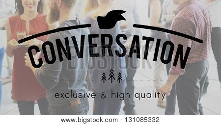 Conversation Communication Connection Interaction Concept