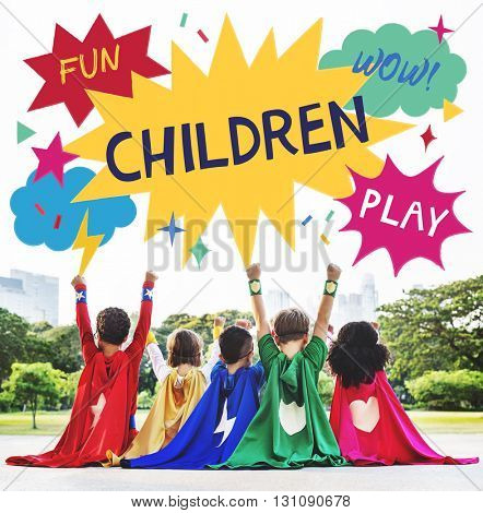 Kid Child Children Playful Childhood Concept