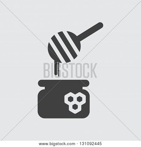 Honey icon illustration isolated vector sign symbol