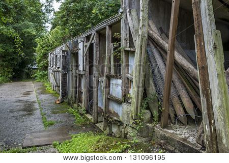old agricultural farm buildings in the UK