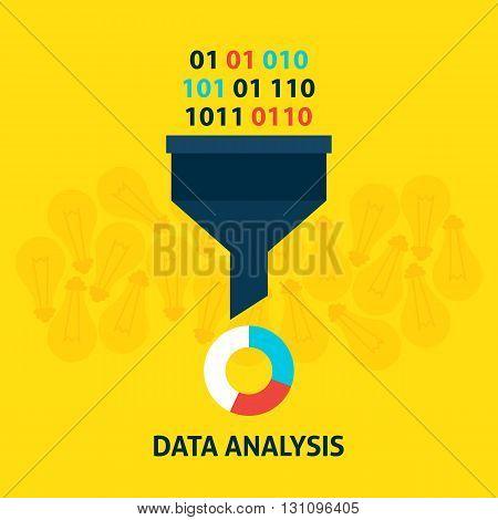 Data Analysis Flat Concept