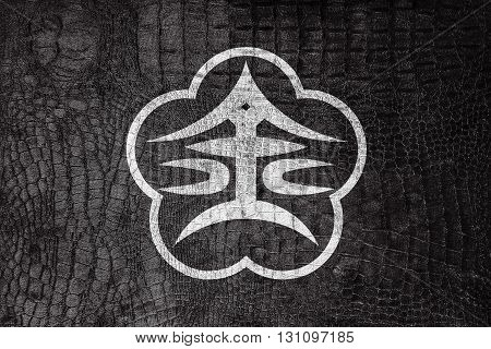 Flag Of Kanazawa, Japan, On A Luxurious, Fashionable Canvas