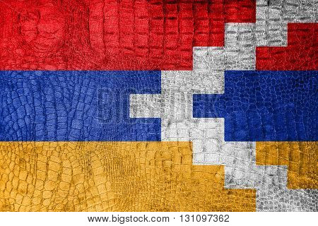 Flag Of Nagorno Karabakh, On A Luxurious, Fashionable Canvas