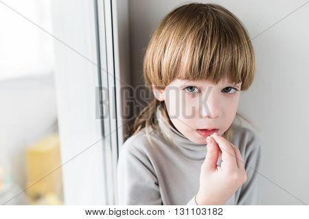 Boy Taking Drugs