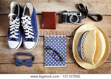 Stylish traveler set