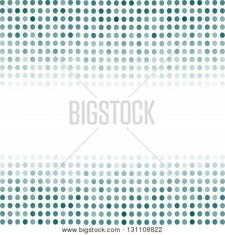 Dotted Azure Background. Halftone Pattern. Comic Book Background