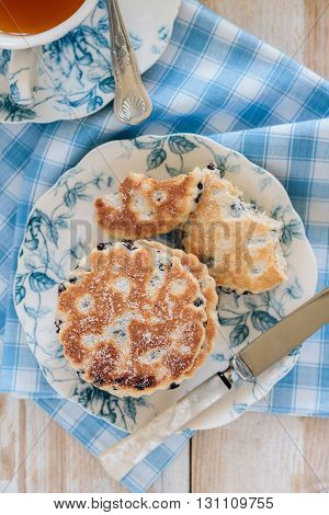 Griddle Cakes Or Welsh Cakes