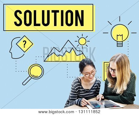 Strategy Innovation Solution Objective Idea Concept