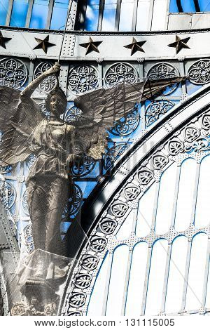 Details Of Gallery Umberto I, Naples , Italy