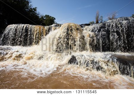 Banfora Falls In Burkina Faso