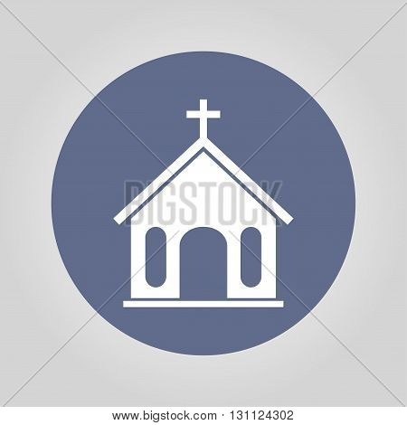 Church Icon. Vector Illustration