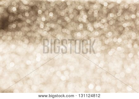 Sparkle Retro Pastel Brown Glow Bokeh Abstract Dreamy Glittering Background