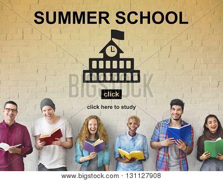 School Summer Wisdom Knowledge Education Concept
