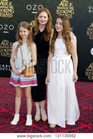 Miranda Otto at the Los Angeles premiere of 'Alice Through The Looking Glass' held at the El Capitan Theater in Hollywood, USA on May 23, 2016.