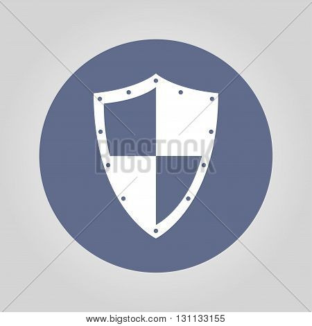 Vector protection icon isolated eps 10 illustration