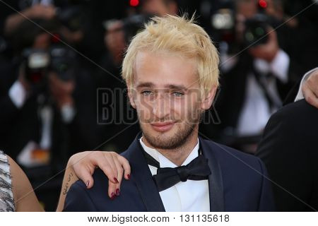 Hopper Penn attend s'The Last Face' Premiere during the 69th Cannes Film Festival at the Palais on May 20, 2016 in Cannes, France.