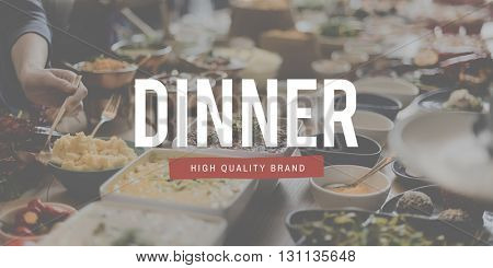 Dining Food Restaurant Meal Variety Concept