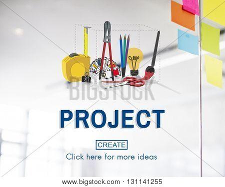 Project Craft Creation Ideas Design Art Concept