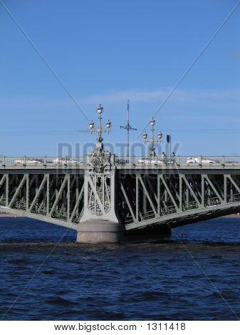 The Troitsky Bridge.
