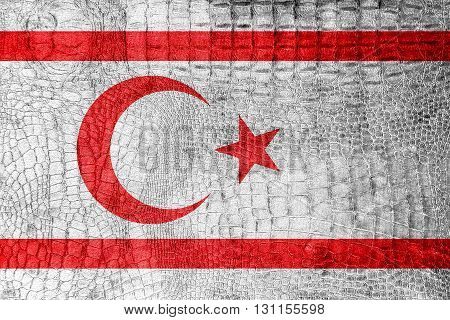 Flag Of Northern Cyprus, On A Luxurious, Fashionable Canvas