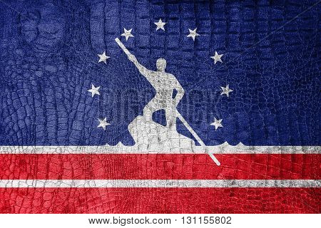 Flag Of Richmond, Virginia, On A Luxurious, Fashionable Canvas