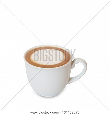 coffee espresso isolated on white background with clipping path