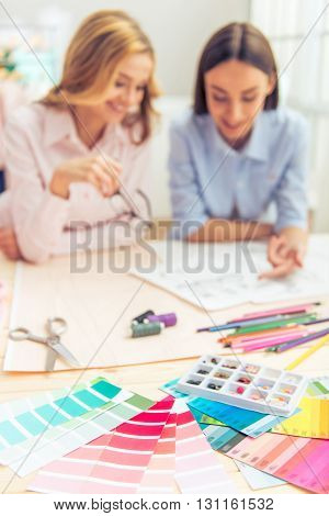Beautiful Designers Working