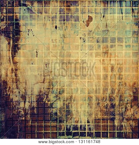 Veined grunge background or scratched texture with vintage feeling and different color patterns: yellow (beige); brown; blue; gray; purple (violet)